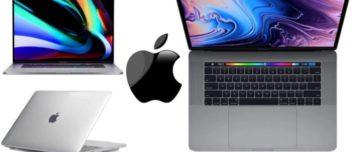 Apple Macbook Pro 16 inch Space Grey Silver 2019