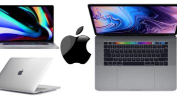 Apple Macbook Pro 16 inch Space Grey Silver 2019