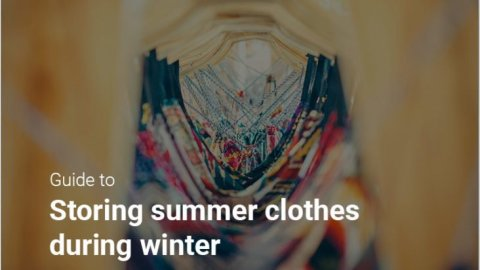Tips to store summer clothes in winter