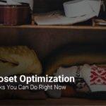 5 ways to optimize your closet
